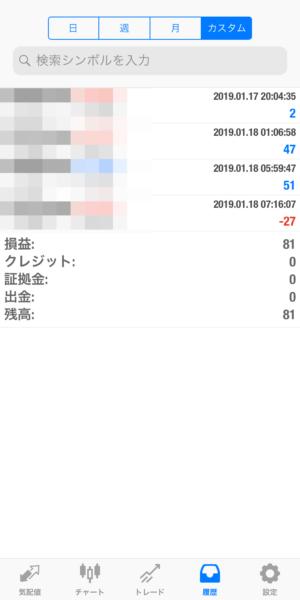 2019.1.18-EA1自動売買運用履歴