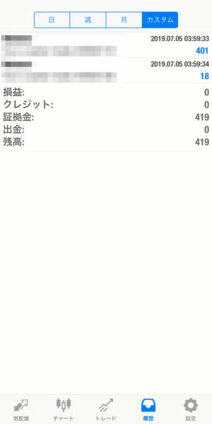 2019.7.5-apple自動売買運用履歴