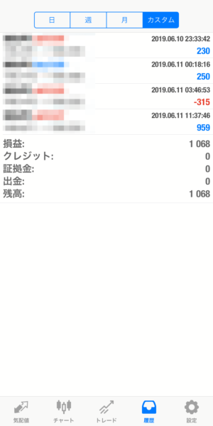 2019.6.11-leopard自動売買運用履歴