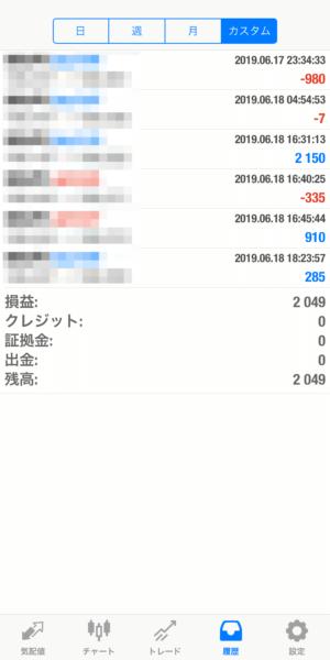2019.6.18-leopard自動売買運用履歴