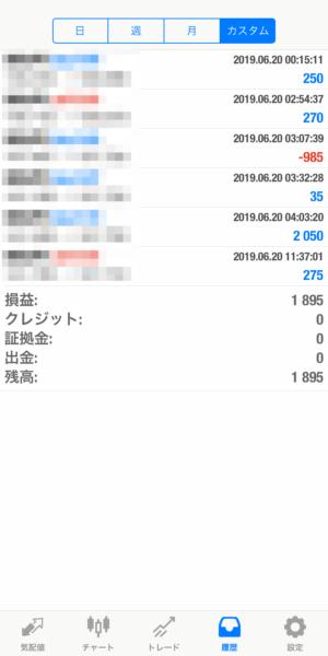 2019.6.20-leopard自動売買運用履歴