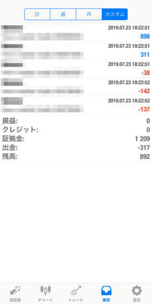 2019.7.23-sierra自動売買運用履歴