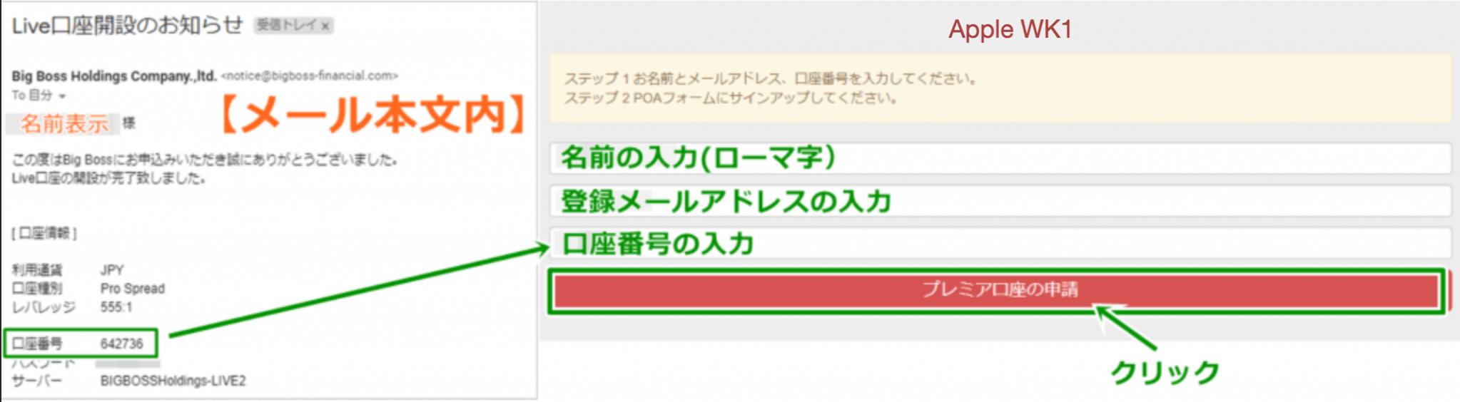 Apple-wk1システムの連携必要情報