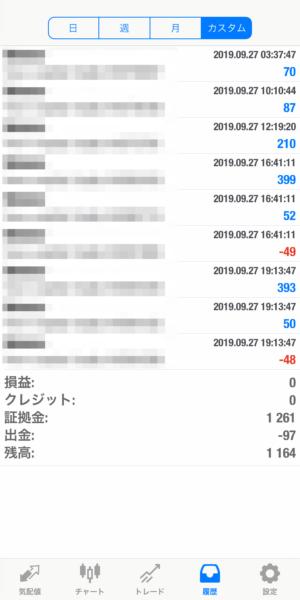 2019.9.27-sierra自動売買運用履歴