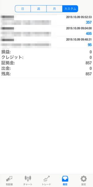2019.10.9-apple自動売買運用履歴