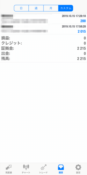 2019.10.15-laurent自動売買運用履歴