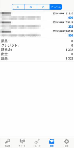 2019.10.9-laurent自動売買運用履歴
