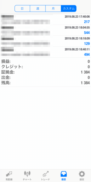2019.8.23-laurent自動売買運用履歴