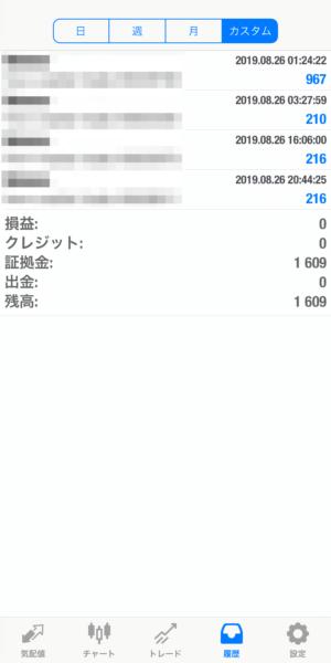 2019.8.26-laurent自動売買運用履歴
