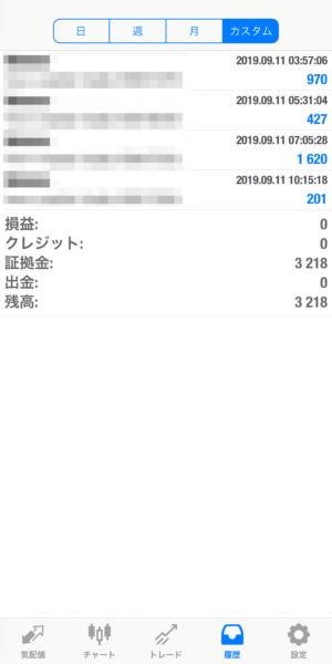 2019.9.12-laurent自動売買運用履歴