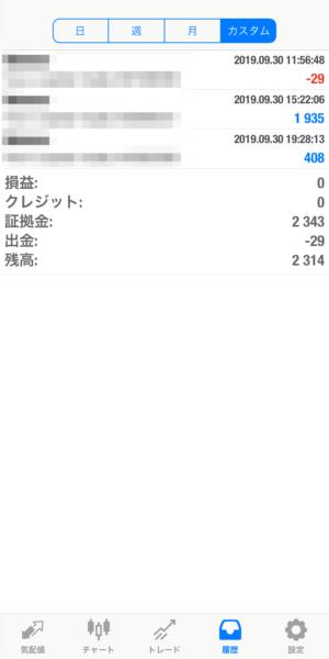 2019.9.30-laurent自動売買運用履歴