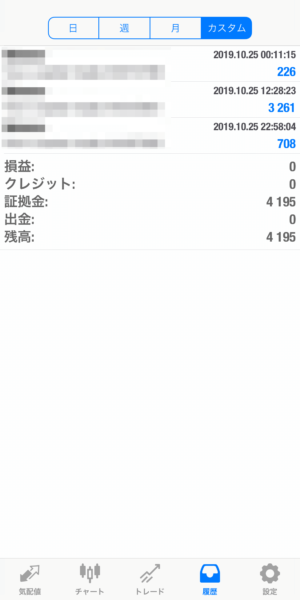 2019.10.25-laurent自動売買運用履歴