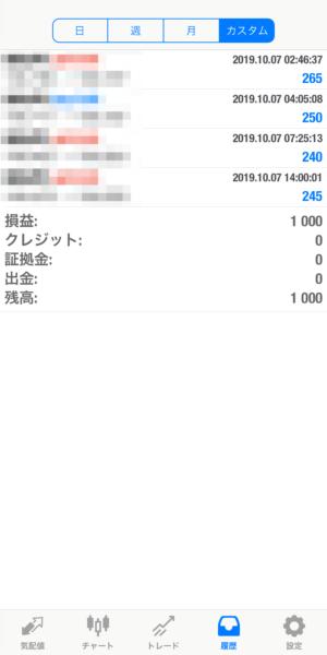 2019.10.7-leopard自動売買運用履歴
