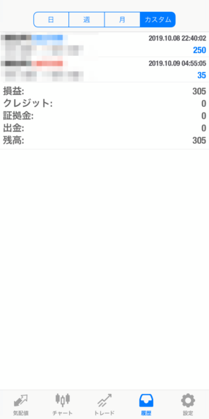 2019.10.9-leopard自動売買運用履歴