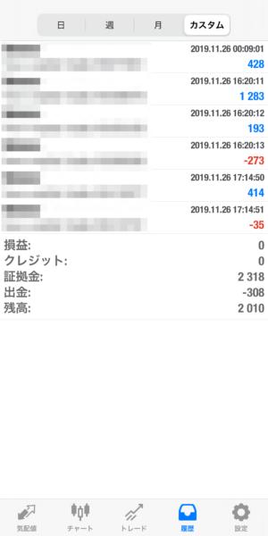 2019.11.26-apple自動売買運用履歴