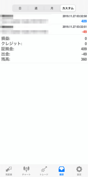 2019.11.27-apple自動売買運用履歴