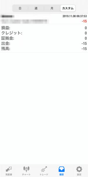 2019.11.8-apple自動売買運用履歴