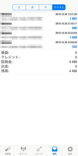 2019.10.30-laurent自動売買運用履歴