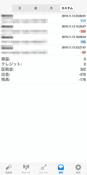2019.11.13-laurent自動売買運用履歴