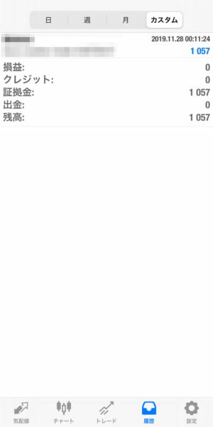 2019.11.28-laurent自動売買運用履歴