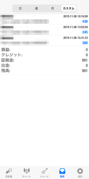 2019.11.8-laurent自動売買運用履歴