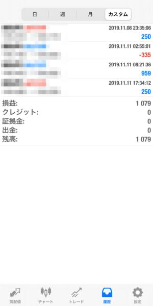 2019.11.11-leopard自動売買運用履歴