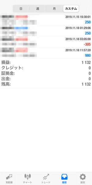 2019.11.18-leopard自動売買運用履歴