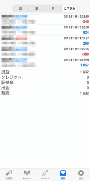 2019.11.19-leopard自動売買運用履歴