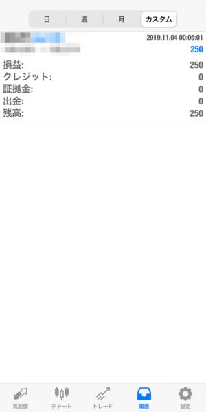 2019.11.4-leopard自動売買運用履歴