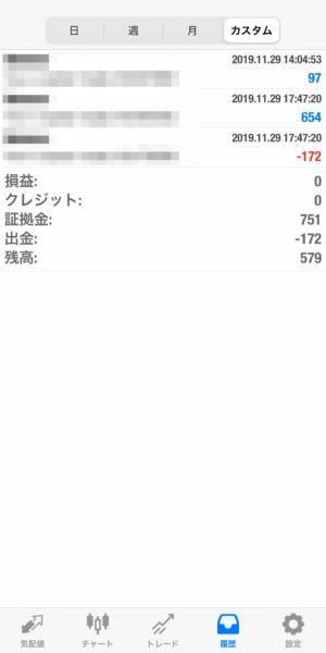 2019.11.29-sierra自動売買運用履歴