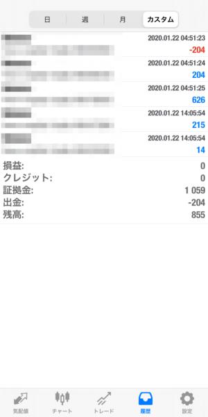 2020.1.22-sierra自動売買運用履歴