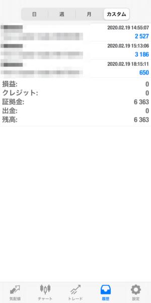 2020.2.19-laurent自動売買運用履歴