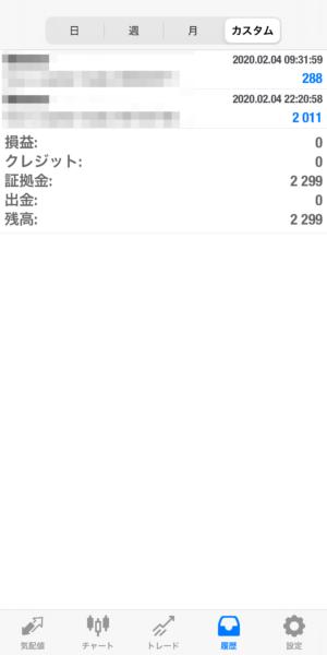 2020.2.4-laurent自動売買運用履歴