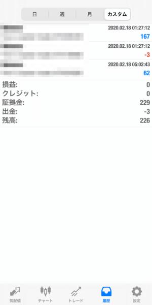 2020.2.18-sierra自動売買運用履歴