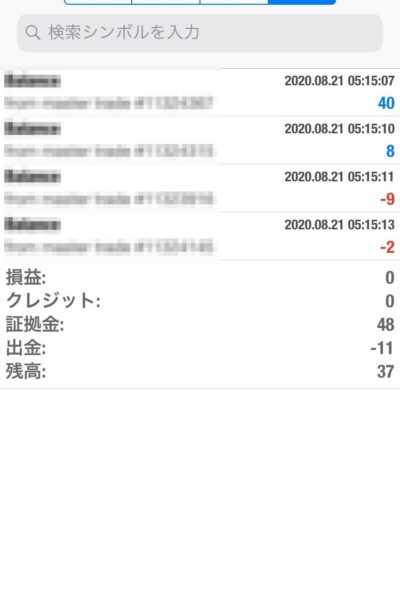 Apple 2020.08.21 自動売買運用履歴