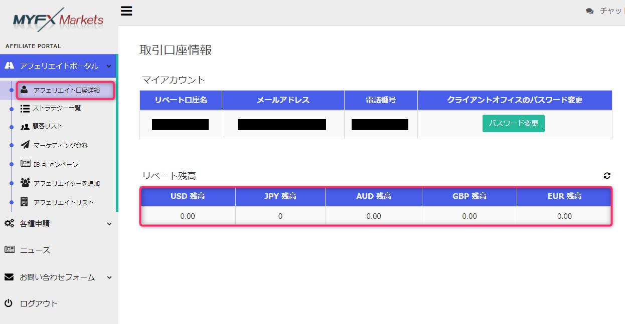 ,yfxmarketsのアフィリエイト登録手順
